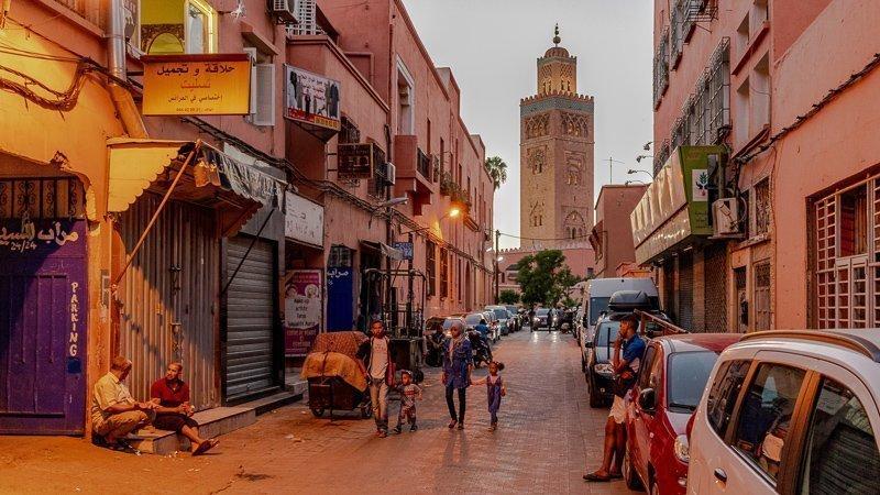In Marokko kun je zeker goed winkelen.