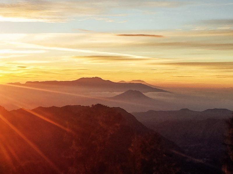 Het mooiste uitzicht tijdens een excursie naar de Bromo Vulkaan Indonesië.
