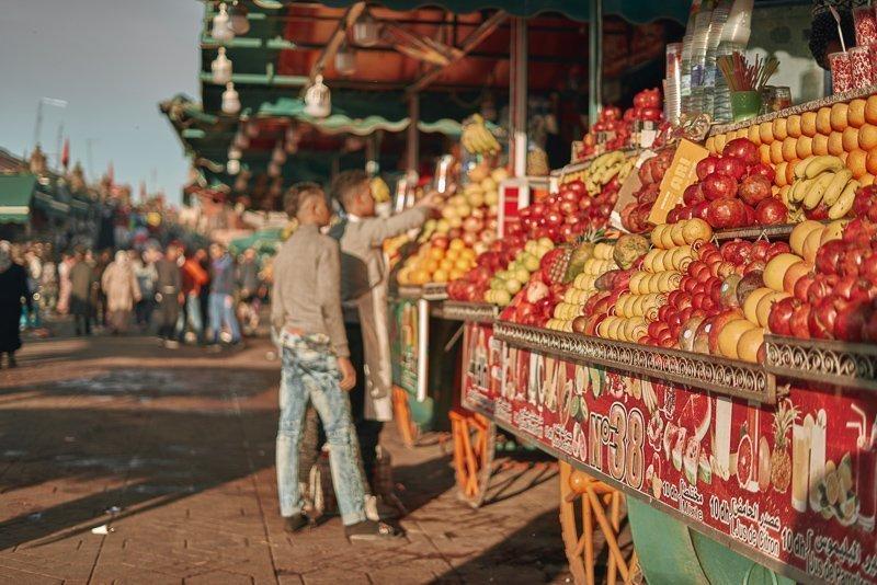Lekker eten kun je zeker in Marokko!
