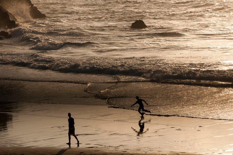 Het strand van Marokko, je vindt hier genoeg kustlijn!