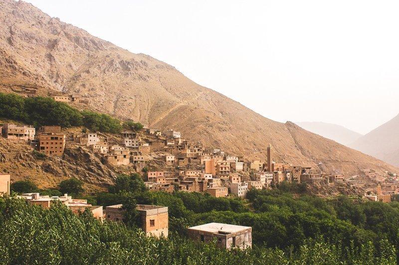 Bij Imlil kun je kennis maken met de berbers.