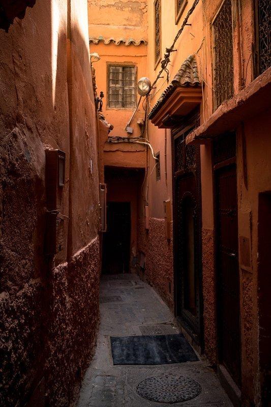 De medina is een belangrijke Marrakech bezienswaardigheid.