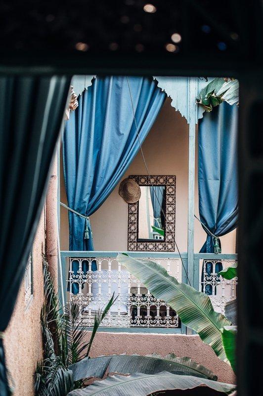 De riads in Marokko zijn prachtig.