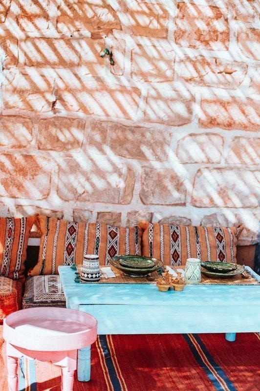 Hoe mooi is al het interieur in Marokko? Zeker een reden waarom je naar Marokko moet gaan!