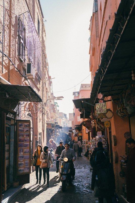 De medina is zeker iets wat je moet doen in Marrakech.