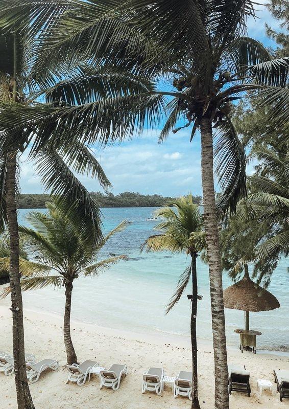 De uitzichten op het eiland zijn fantastisch.