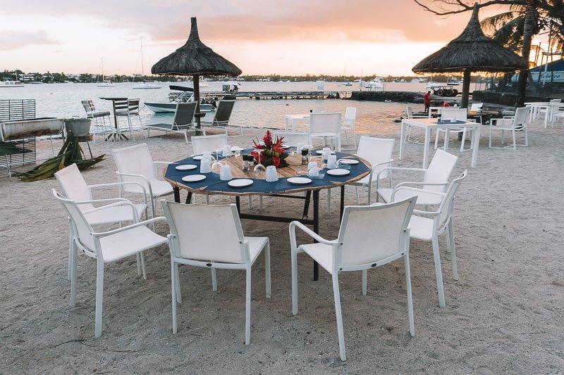 Lekker dineren op het strand, het kan allemaal!