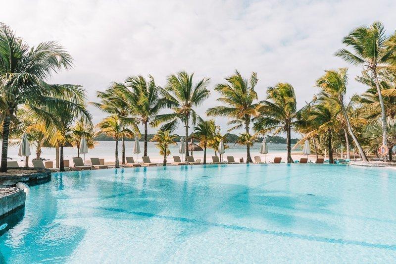 Het klimaat Mauritius is altijd heerlijk.