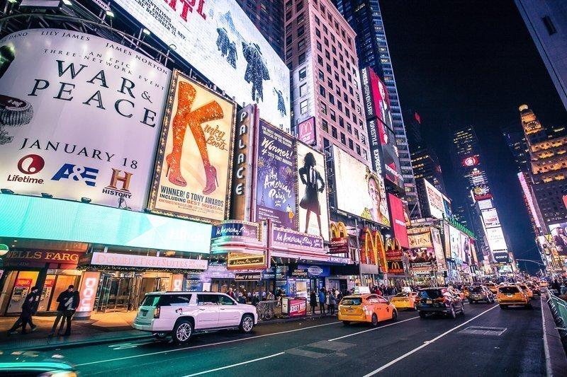 Zorg dat je geen taxi pakt in New York om hoge bedragen te drukken.
