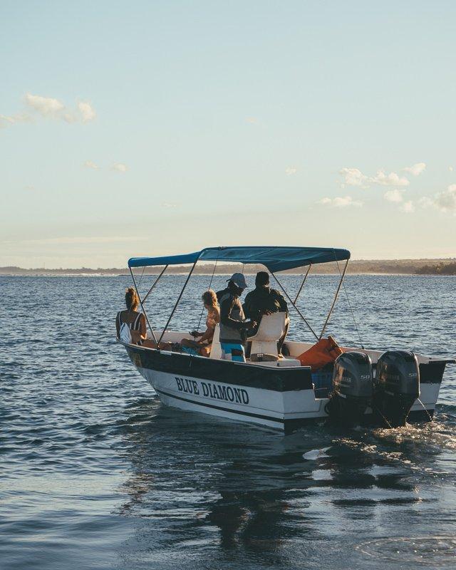Wat te doen op Mauritius? Huur een bootje en ga lekker varen!