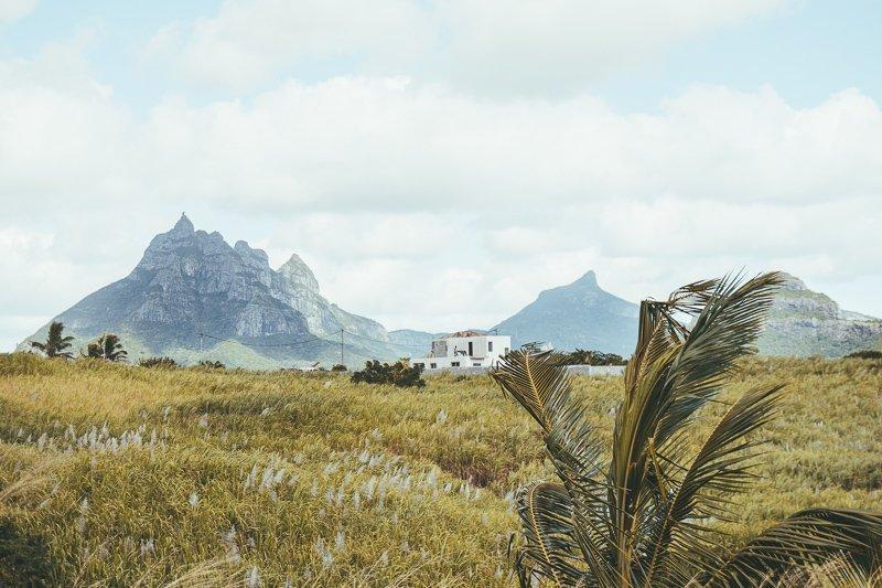 De natuur op Mauritius is prachtig.