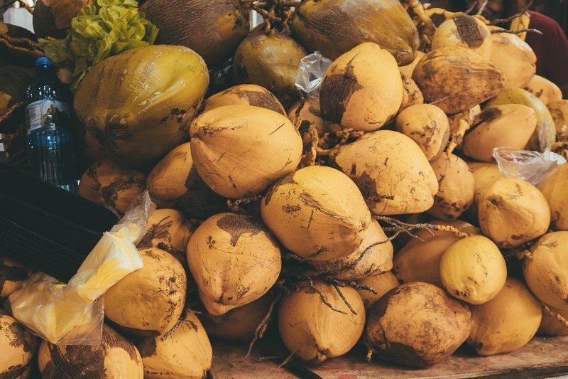 Kokosnoten op Mauritius vind je genoeg!