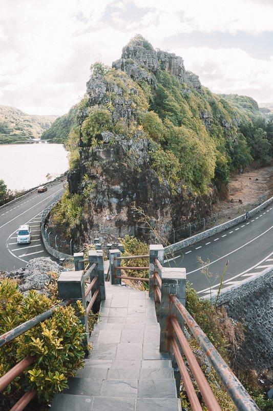 De wegen op Mauritius zijn heel goed.