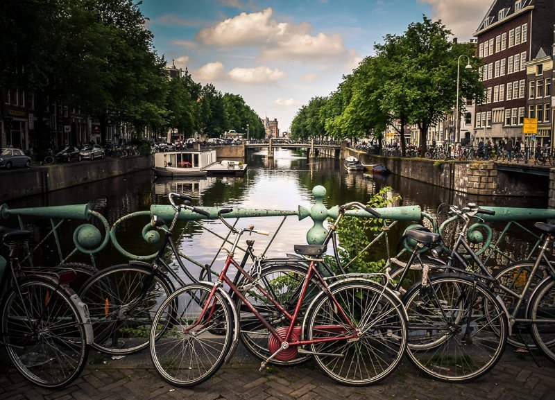 During your two days in Amsterdam you have to visit the beautiful canals.