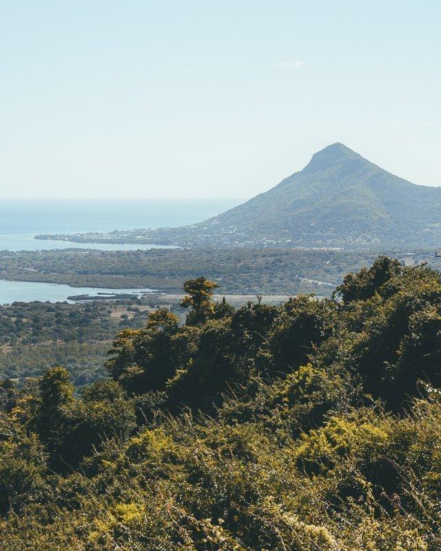 De uitzichten in Mauritius zijn fenomenaal.