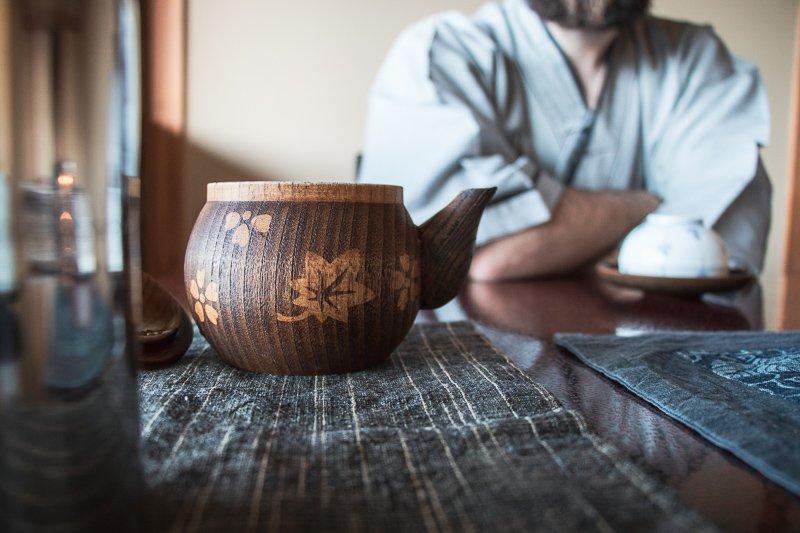 Ryokans zijn traditionele accommodaties, waar je nog op de grond slaapt.
