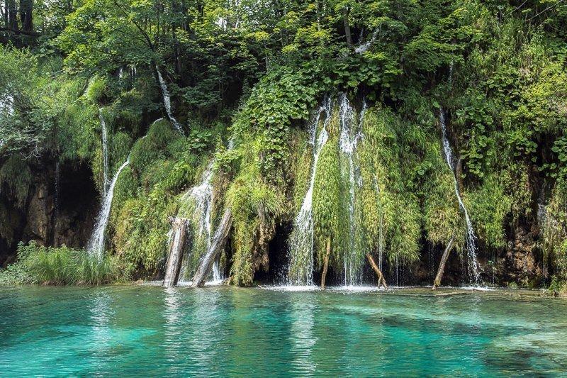 De Plitvicemeren in Kroatië wordt door velen bestempeld als een van de mooiste plekken van de wereld.