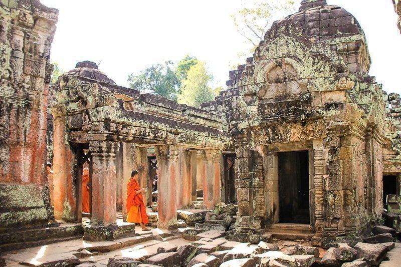 Angkor Wat in Cambodja is een prachtige plek, waar je zeker eens in je leven geweest moet zijn.