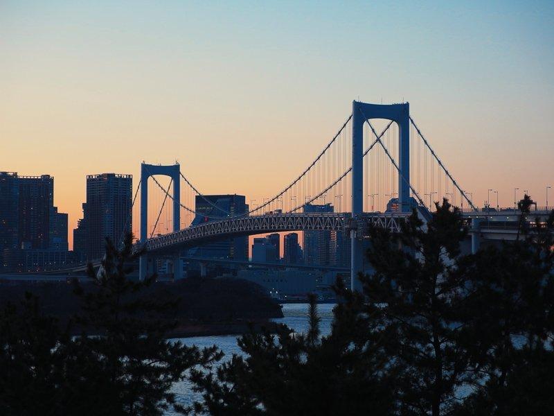 Odaiba is een kunstmatig eiland, waar je allerlei leuke dingen kunt ondernemen.