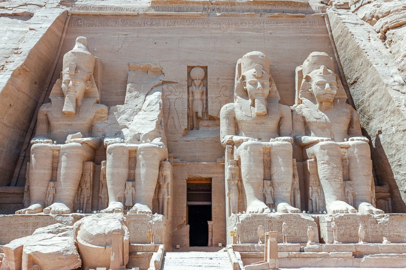 De piramiden in Egypte moet je ooit hebben gezien.