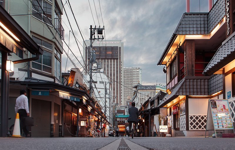 In Japan zijn de hotels erg klein, dus houd hier rekening mee.