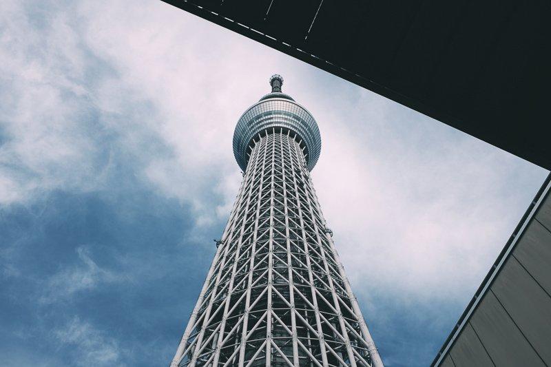 Bekijk het uitzicht vanaf de Skytree!