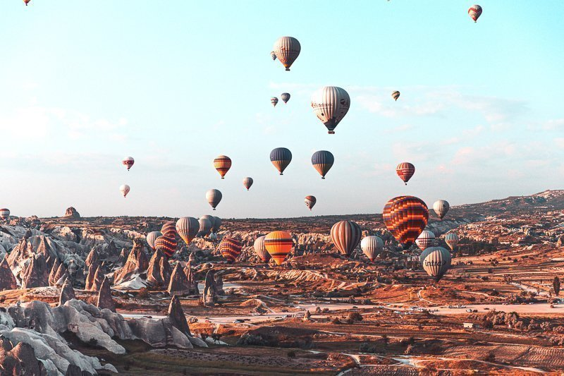 Cappadocia in Turkije is absoluut een van de gaafste bucketlist bestemmingen.