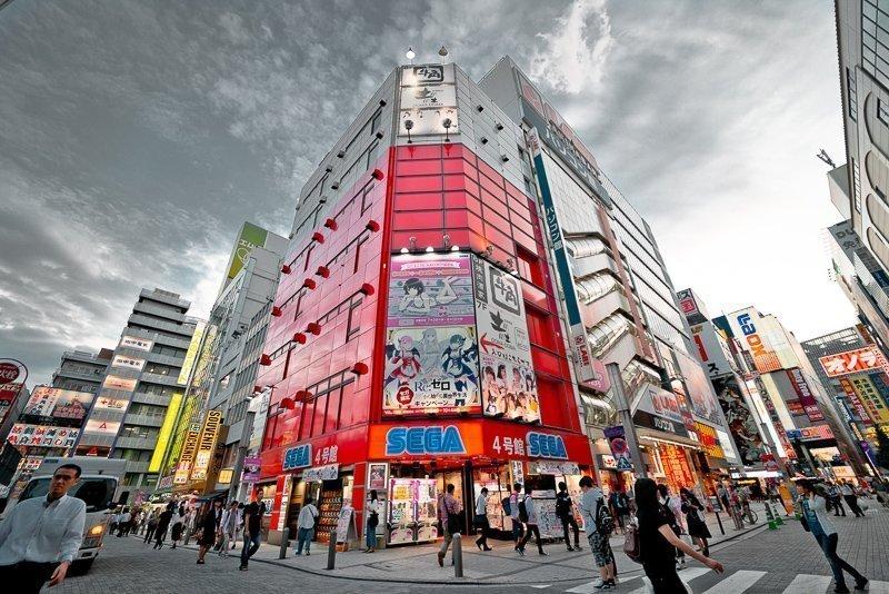 Shibuyu is het toeristische centrum van de stad, wat je niet mag hebben overgeslagen.