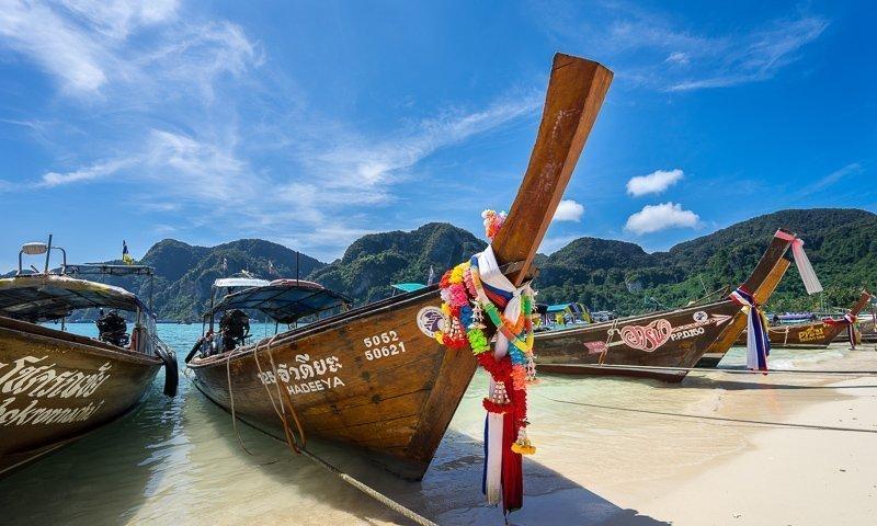 Thailand is de ideale zonnestemming in onze winter.