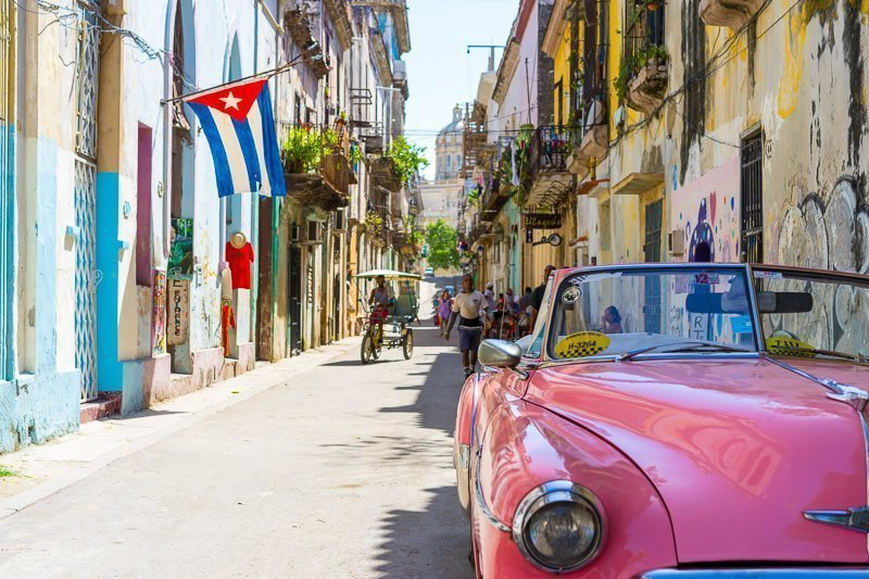 In Cuba drink je mojito's met de zon op je gezicht!