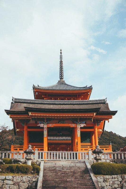 Een complex bij Kiyomizudera tempel.