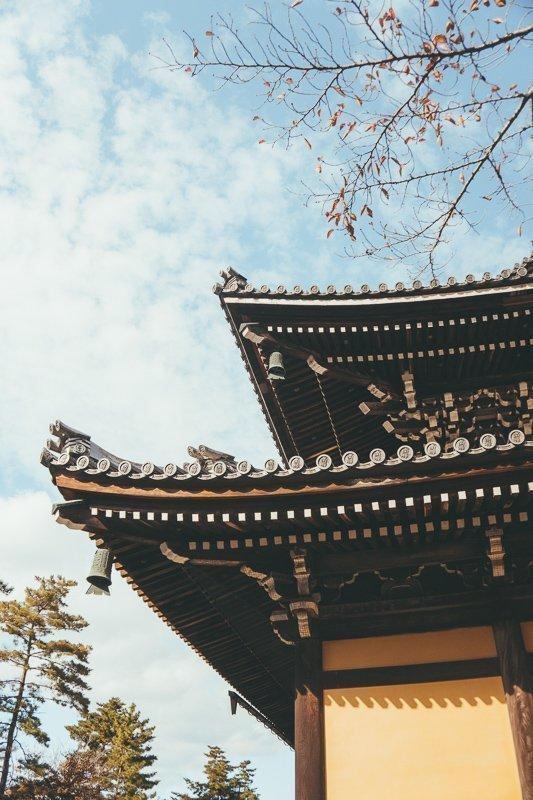 De Nanzenji tempel in Kyoto.