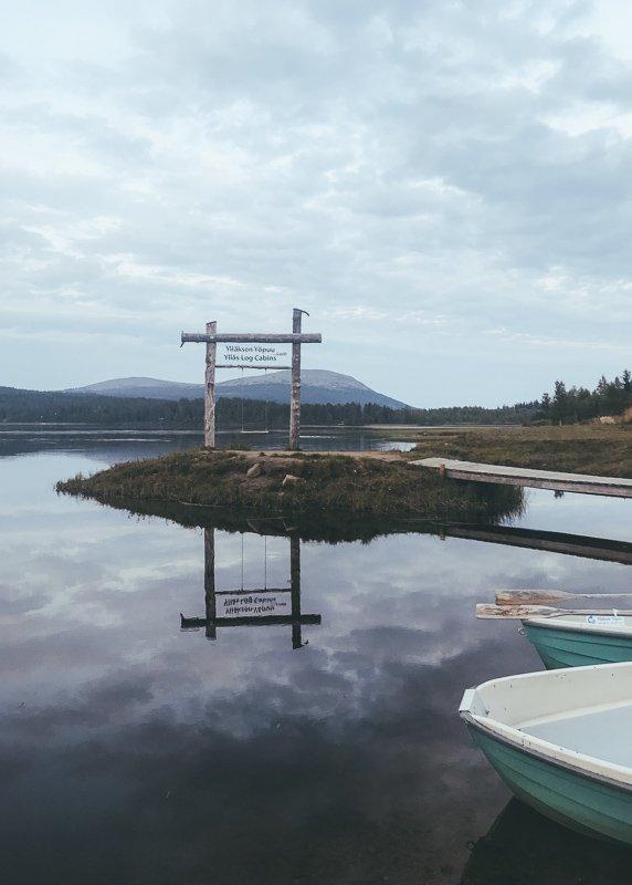 De meren in Yllas zijn prachtig.