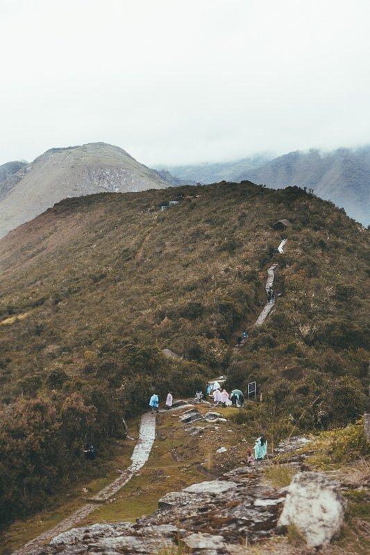De bergen van Peru.