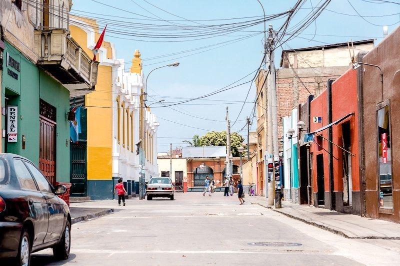 De kleurrijke straten van Barranco.