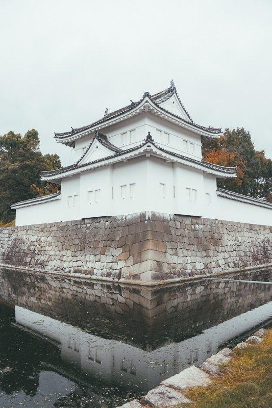 De tempels zijn in Japan erg mooi.