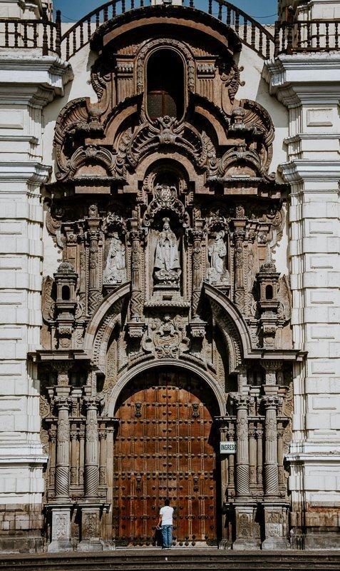 De prachtige San Francisco church.