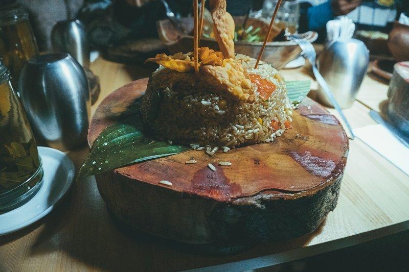 In Chachapoyas kun je heerlijk eten en drinken.
