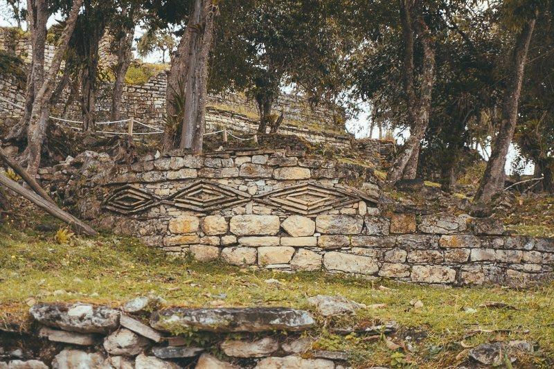 Kuélap Peru is pas in 1843 herontdekt en sinds 2003 staat het op de Werelderfgoedlijst van UNESCO.