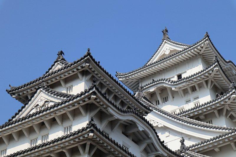 Maak een dagtrip naar Himeji voor het mooiste kasteel van heel Japan.