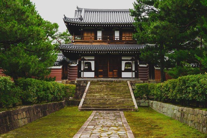 In een stad als Kyoto spreken ze wat beter Engels dan bijvoorbeeld in Tokyo.