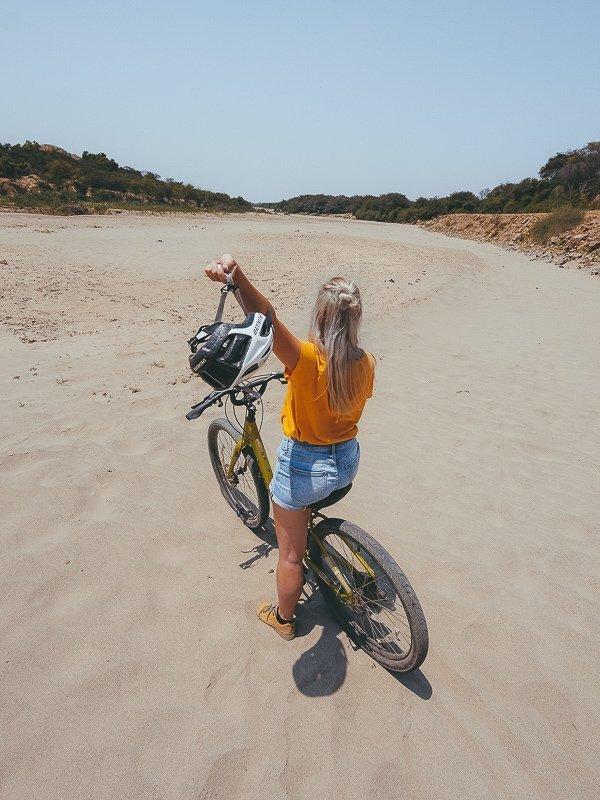 Lekker fietsen in het noorden van Peru.