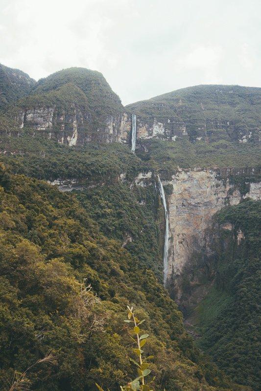 De Gocta waterval!