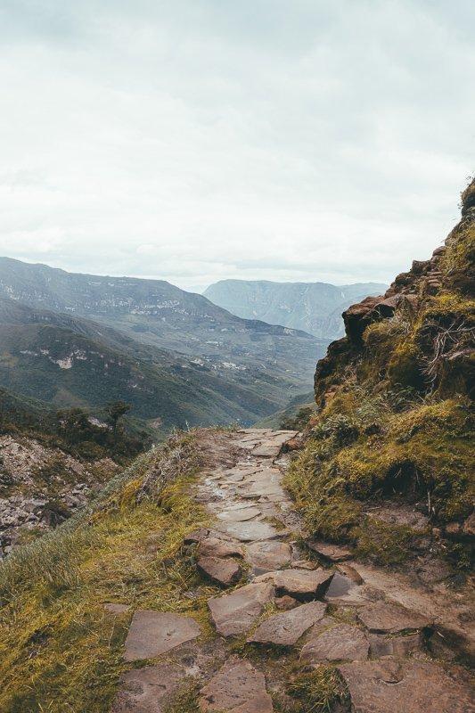 De Gocta trekking.