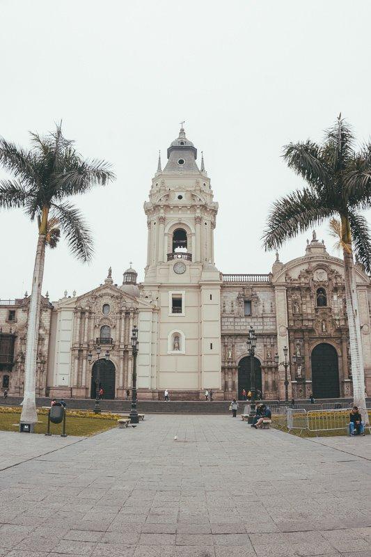 Het plein van Lima.