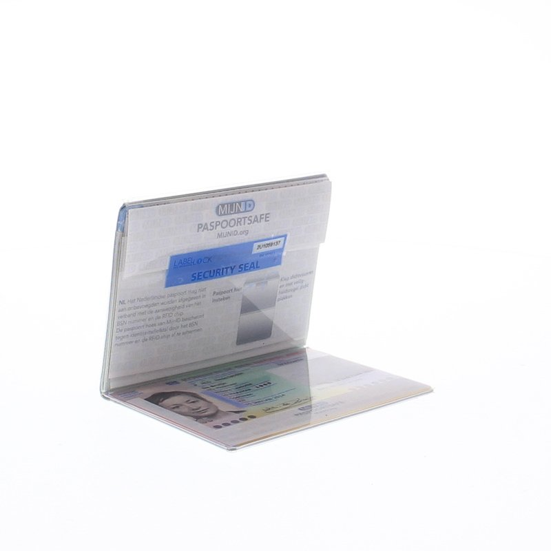 Met Paspoortsafe bescherm je jouw paspoort tegen identiteitsfraude.