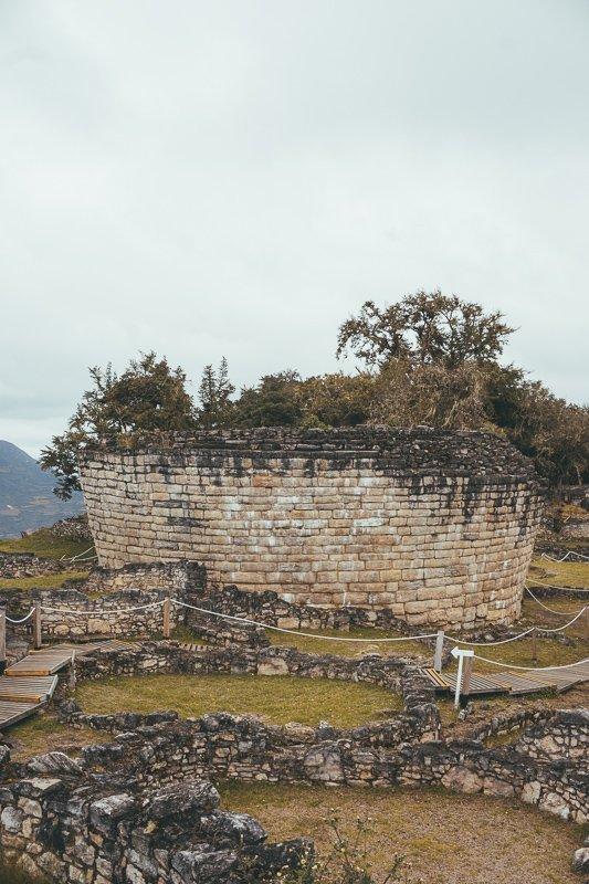 De archeologische site Kuélap Peru.