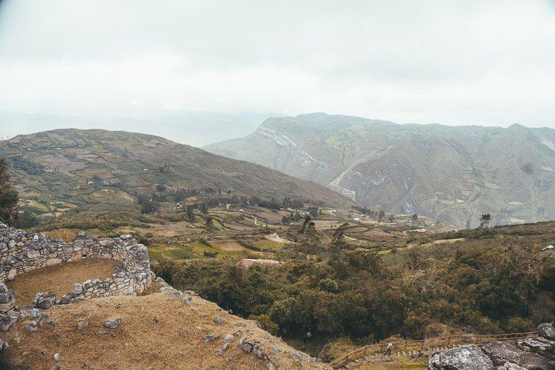 De prachtige omgeving van Noord-Peru.