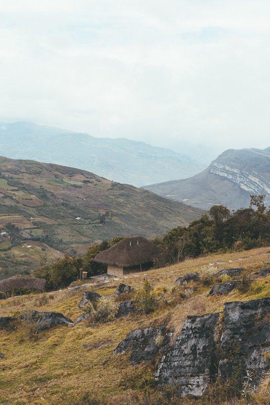 De natuur in het noorden van Peru is prachtig.