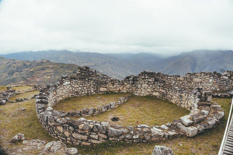 Een archeologische site uit de zesde eeuw.